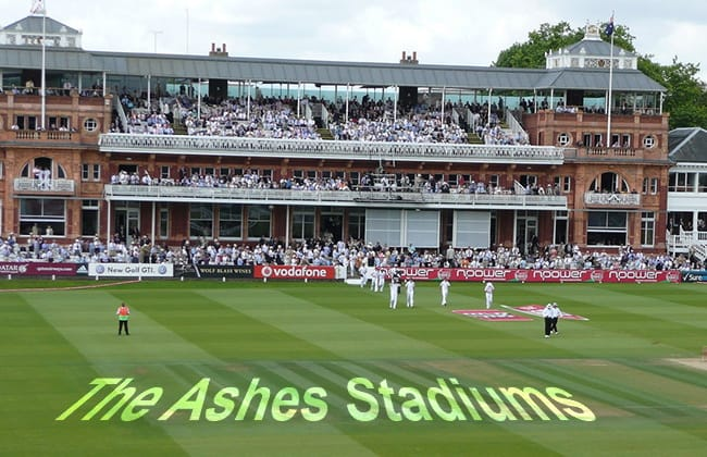 Ashes Test Stadiums