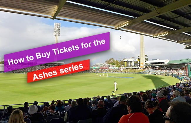 How to Buy Tickets for the 2019 Ashes